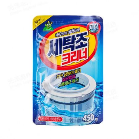韩国山精灵洗衣机清洗粉450g*4(单件约23元)