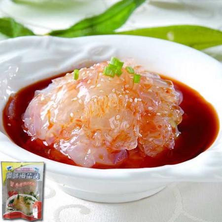 [绿万家]美味海蜇头15+15超值组 老醋味、香辣味鲜香味美