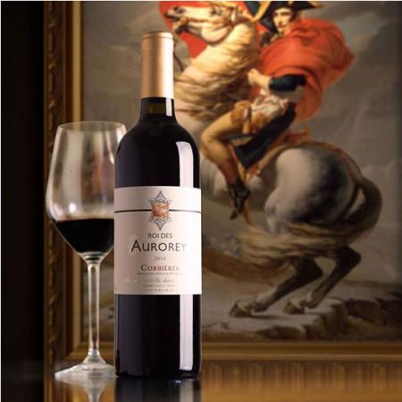 法国奥罗拉国王干红葡萄酒12瓶