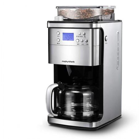 英国摩飞 美式家用全自动磨豆咖啡机mr4266