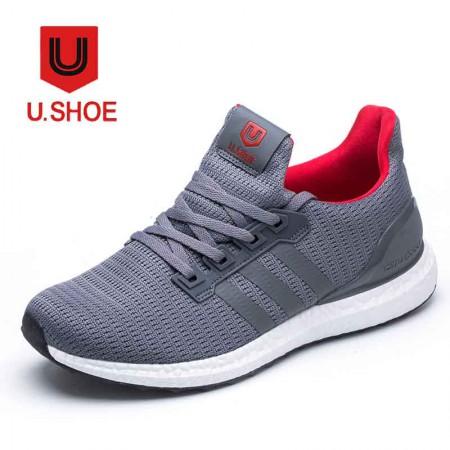 优树运动休闲情侣男女慢跑鞋·深灰色