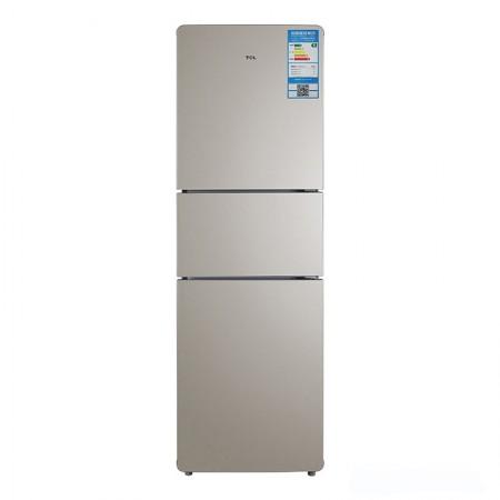 TCLBCD-211TWF1流光金三门风冷冰箱