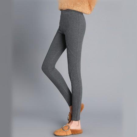 时尚拼接薄+厚打底裤两件组·颜色备注(薄+厚)